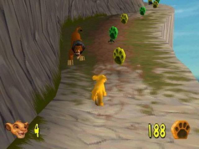 lion king ps1